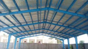 پوشش سقف سوله فرودگاه بوشهر