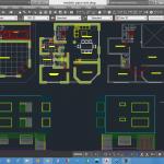 نقشه معماری ویلای 2 طبقه