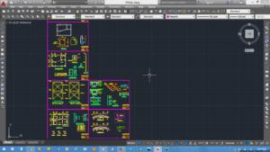 نقشه سازه ای ویلای 2 طبقه