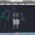 نقشه ها و محاسبات ساختمان ویلای 3 طبقه با اسکلت فولادی