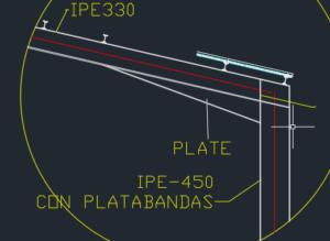 سوله با تیرآهن تقویت ستون سوله با ورق