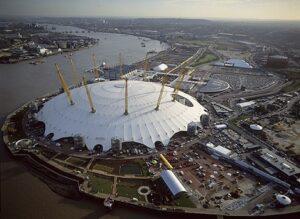 نقشه سه بعدی اتوکد استادیوم لندن
