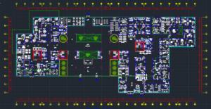 فایل اتوکد نقشه معماری بیمارستان