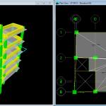 نقشه و محاسبات سازه بتنی 5 طبقه