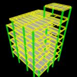 محاسبات سازه فولادی 6 طبقه