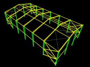 محاسبات سوله با نرم افزار etabs