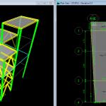 فایل ایتبس سازه فلزی 3 طبقه